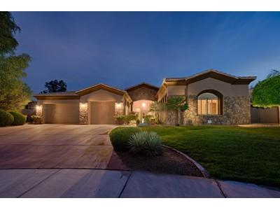 Частный односемейный дом for sales at Great Home In The Gated Shea Corridor Community Of Rancho Verde 11169 E North Lane  Scottsdale, Аризона 85259 Соединенные Штаты