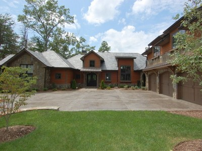 Single Family Home for sales at Spectacular Custom Waterfront Home 300 Buttercup Way Sunset, South Carolina 29685 United States