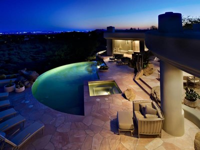 Single Family Home for sales at Extraordinary Contemporary in Desert Mountain 41851 N 112th Place #126 Scottsdale, Arizona 85262 United States