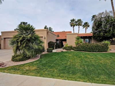 Single Family Home for sales at Beautifully Remodeled Home in McCormick Ranch 8708 E San Lorenzo Drive Scottsdale, Arizona 85258 United States