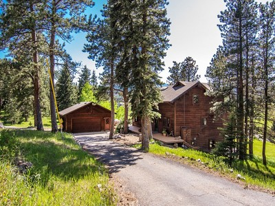 Maison unifamiliale for sales at 7733 Red Fox Drive  Evergreen, Colorado 80439 États-Unis