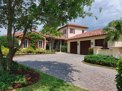 Single Family Home for sales at 444 Red Hawk Drive  Jupiter, Florida 33477 United States
