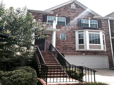 Townhouse for rentals at Fabulous End Unit Rental 6008 Galewind Court Johns Creek, Georgia 30097 United States