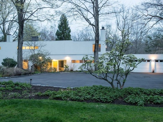 Single Family Home for sales at Mid Century Modern by Edward Durell Stone 614 Hollow Tree Ridge Road Darien, Connecticut 06820 United States