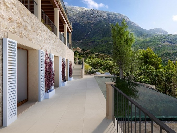 Multi-Family Home for sales at Project for a stunning finca in Deia with seaviews Deia, Mallorca Spain