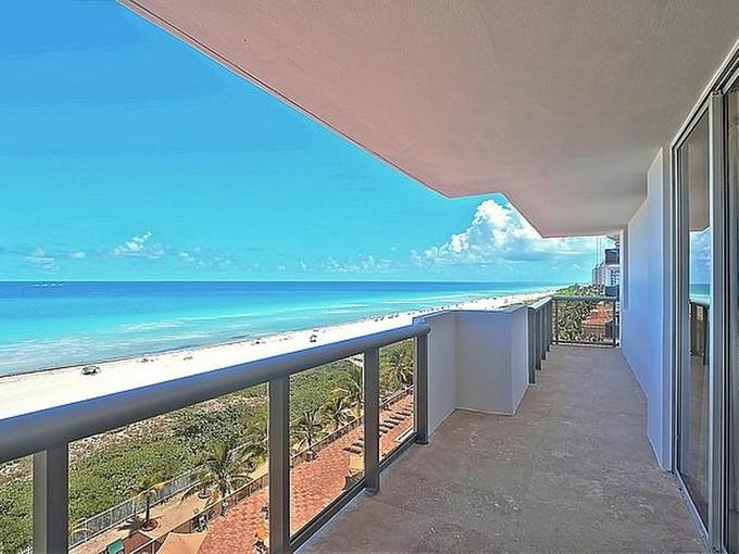 Кооперативная квартира for sales at 6039 Collins Ave #818   Miami Beach, Флорида 33140 Соединенные Штаты