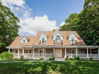 獨棟家庭住宅 for sales at Custom Cape 25 Beechwood Rd Branford, 康涅狄格州 06405 美國
