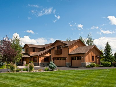 Single Family Home for sales at Cheerful Melody Ranch Home 1277 Melody Creek Lane South Jackson Hole, Wyoming 83001 United States