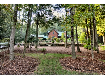 Single Family Home for sales at Harmonious Log Home on Almost 5 Acres 51 Ravenwood Trail  Black Mountain, North Carolina 28711 United States
