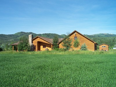Single Family Home for sales at Home on 5 Acre.- No CCR's 4740 WEST 6250 South Victor, Idaho 83455 United States