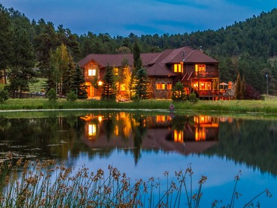 Single Family Home for sales at 1469 Kerr Gulch Road  Evergreen, Colorado 80439 United States
