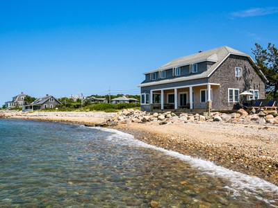 Single Family Home for sales at East Chop Beach House 283 East Chop Drive Oak Bluffs, Massachusetts 02557 United States