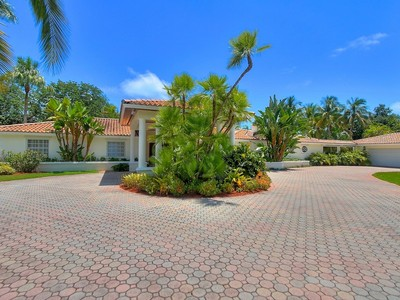 Maison unifamiliale for sales at THE OLD CUTLER PINES 15335 Old Cutler Road Pinecrest, Florida 33157 États-Unis