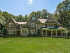 Single Family Home for  sales at Masterfully Crafted Stone & Shingle Colonial 237 Hickok Road New Canaan, Connecticut 06840 United States