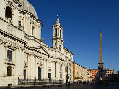 Apartamento for sales at Superlative residence overlooking Piazza Navona  Rome, Rome 00118 Itália