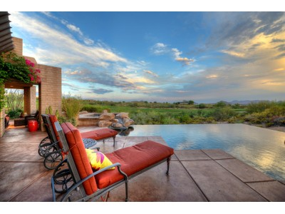 Einfamilienhaus for sales at Exceptional Home Overlooking The 2nd Fairway Of The Apache Golf Course 11019 E Greythorn Drive  Scottsdale, Arizona 85262 Vereinigte Staaten