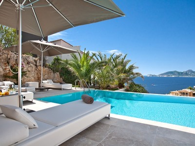 Single Family Home for sales at Tranquil villa with sea views in Port Andratx  Port Andratx, Mallorca 07157 Spain