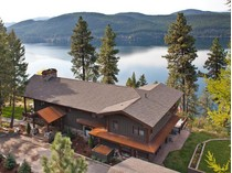 獨棟家庭住宅 for sales at Overlooking Whitefish Lake 130 Roaring Creek Road   Whitefish, 蒙大拿州 59937 美國