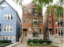 Кооперативная квартира for sales at Great Location-Wonderful Duplex 1020 W George Street Unit 1  Lakeview, Chicago, Иллинойс 60657 Соединенные Штаты
