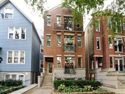 Piso for sales at Great Location-Wonderful Duplex 1020 W George Street Unit 1  Chicago, Illinois 60657 Estados Unidos