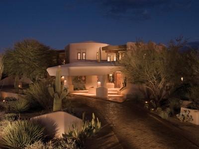 Tek Ailelik Ev for sales at Spacious & Elegant Award-Winning Bowman House by Boulders Designer Bob Bacon 8599 E Tecolote Circle Scottsdale, Arizona 85266 Amerika Birleşik Devletleri