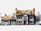 Single Family Home for  sales at Classic Colonial New Construction 108 Bennington Place New Canaan, Connecticut 06840 United States