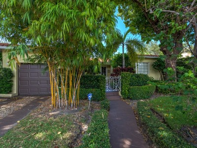 Single Family Home for sales at One Story Gables 323 Malaga Avenue Coral Gables, Florida 33134 United States