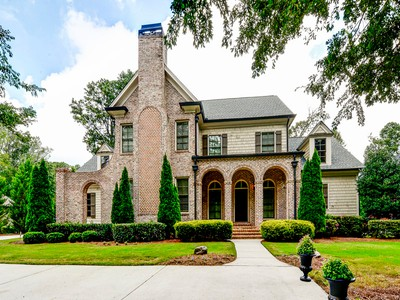 Single Family Home for sales at Beautiful Home On Private Lot 4060 Spalding Drive Dunwoody, Georgia 30350 United States