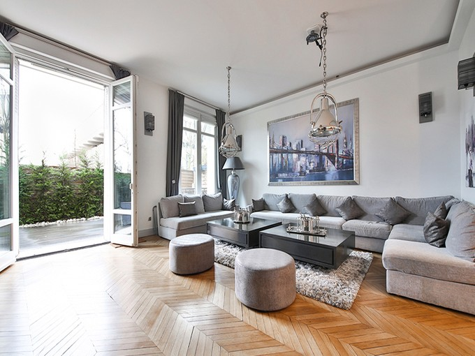 Wohnung for sales at Sublime apartment with private garden and terrace - Flandrin   Paris, Paris 75016 Frankreich
