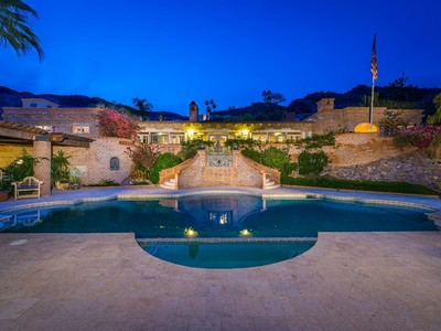 Single Family Home for sales at Timeless Adobe Hacienda Retreat Is Inspired By Nature While Ensconced In Luxury 7502 N Clearwater Pkwy Paradise Valley, Arizona 85253 United States