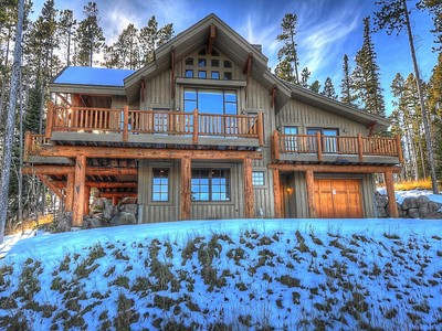 Single Family Home for sales at Ski-in, Ski-out Moonlight Mountain Home 4 Indian Summer Road Big Sky, Montana 59716 United States
