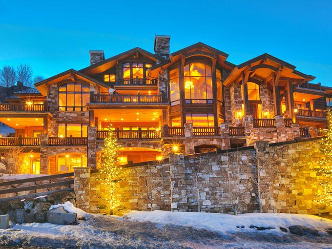 Single Family Home for sales at Iconic Deer Valley Ski Home 10663 N Summit View Dr Heber City, Utah 84032 United States