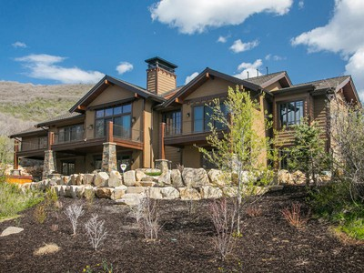 Single Family Home for sales at 2011 Parade of Homes Showcase Home 8929 Parley's Ln Park City, Utah 84098 United States
