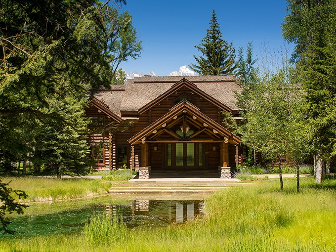 Einfamilienhaus for sales at Bar B Bar Ranch Tradition 7190 Bar B Bar Ranch Road North Jackson Hole, Wyoming 83001 Vereinigte Staaten