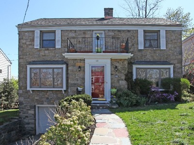 Single Family Home for sales at Beautiful Center Hall Colonial 46 Pershing Avenue Yonkers, New York 10705 United States