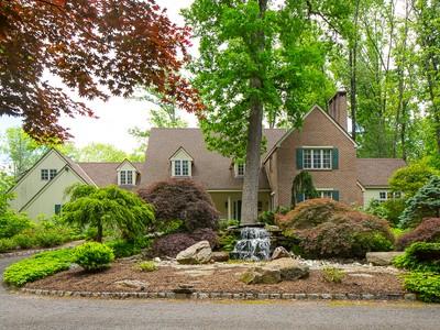 Maison unifamiliale for sales at Classic William Thompson Design 4497 Province Line Road Princeton, New Jersey 08540 États-Unis