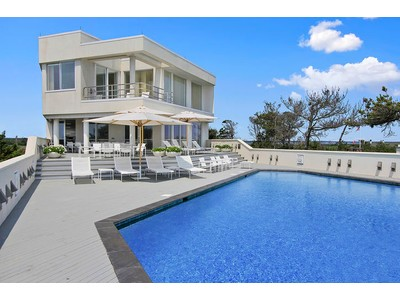 Single Family Home for sales at Majestic Oceanfront Contemporary 186 Dune Road Quogue, New York 11959 United States