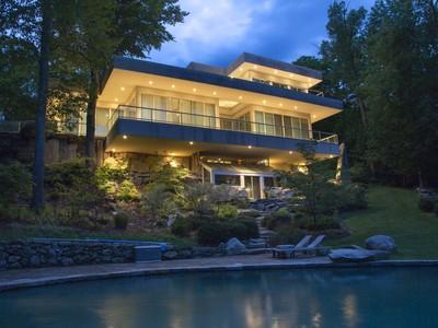 Casa Unifamiliar for sales at Modern Sophistication 30 Brandy Lane  Bridgewater, Connecticut 06752 Estados Unidos