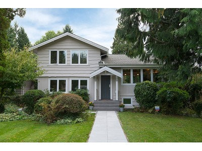 Nhà ở một gia đình for sales at Updated 3 Level Family Home 1024 Lawson Avenue  West Vancouver, British Columbia V7T2E2 Canada
