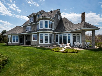 Single Family Home for sales at Impeccable Shingle-Style York Harbor Residence 7 Roaring Rock Point York, Maine 03911 United States