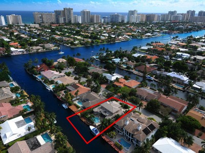 Maison unifamiliale for sales at Coral Ridge Estate 3061 NE 45th St. Fort Lauderdale, Florida 33308 États-Unis