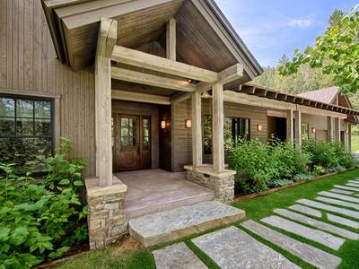 Частный односемейный дом for sales at Rustic Contemporary Home on 6 Acres  West Bank South, Вайоминг 83001 Соединенные Штаты