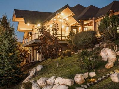 独户住宅 for sales at Panoramic Views From Stone Ridge 1445 S Ridge Point Dr   Bountiful, 犹他州 84010 美国