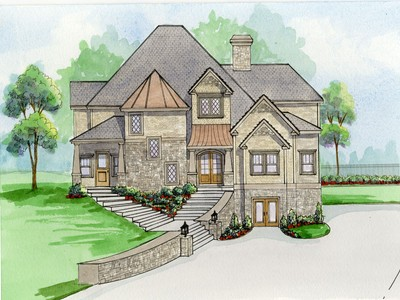 Single Family Home for sales at New Construction In Buckhead 3037 Towerview Drive NE Atlanta, Georgia 30324 United States