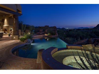 Villa for sales at Custom Pueblo-Style Home In The Exclusive Gated Community Of Privada 10585 E Crescent Moon Drive #48  Scottsdale, Arizona 85262 Stati Uniti