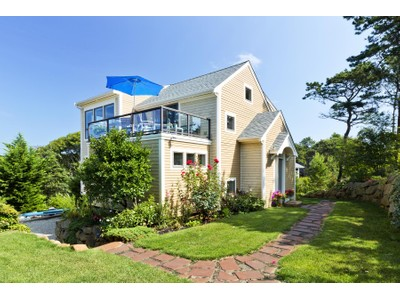 Maison unifamiliale for sales at Meadowview Heights Contemporary Cape 20 Bayberry Ave  Provincetown, Massachusetts 02657 États-Unis