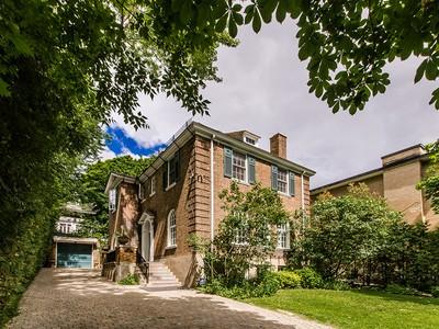 Maison unifamiliale for sales at Montréal   Ville-Marie 3105 Le Boulevard Montreal, Québec H3Y1R8 Canada