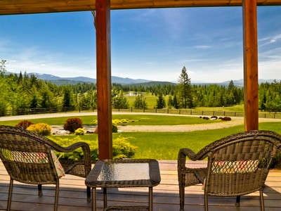 Single Family Home for sales at Scenic Day Star Ranch 4575 Blacktail Road  Careywood, Idaho 83809 United States