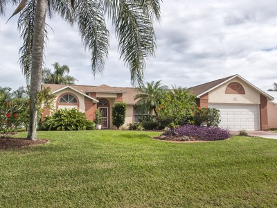 Single Family Home for sales at Pool Home in Sebastian Highlands 941 Carnation Drive Sebastian, Florida 32958 United States
