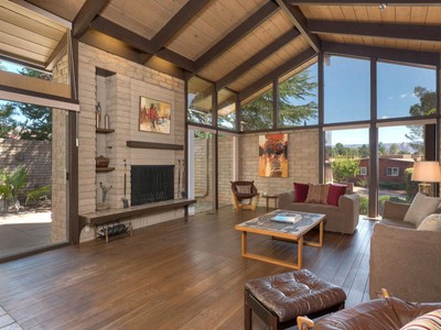 Maison unifamiliale for sales at Stunning Mid Century Home 445 Last Wagon Drive Sedona, Arizona 86336 États-Unis